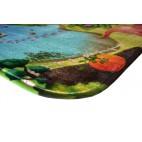 Dětský koberec Ultra Soft Zámek, 130 x 190 cm