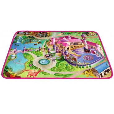 Dětský koberec Ultra Soft Zámek, 70 x 100 cm
