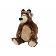 Máša a Medveď - plyšový sediaci Medveď 40 cm