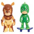 PJ Mask figurka 8 cm - Gekko a Vlčí dítě