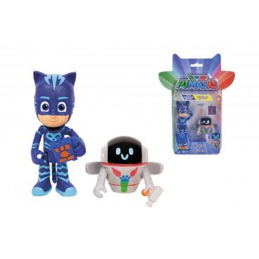 PJ Mask figurka 8 cm - Cat a PJ Robo