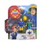 Požárník Sam - dvě figurky s příslušenstvím (Elvis a Dilys)
