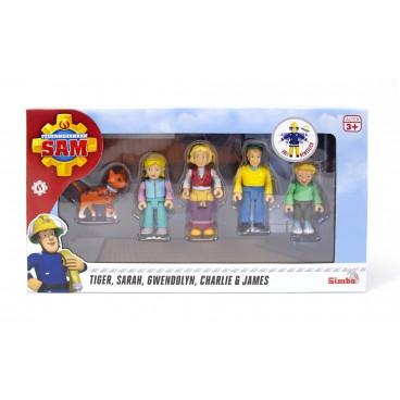 Požárník Sam - figurky s příslušenstvím (Rodina Jonesovi)