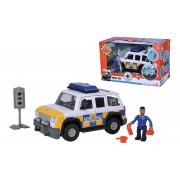 Požárník Sam policejní auto s figurkou