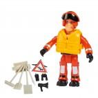 Požárník Sam - figurka s příslušenstvím ve vajíčku