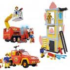 Požárník Sam Set 3v1 Zachraňte figurínu z hořící věže