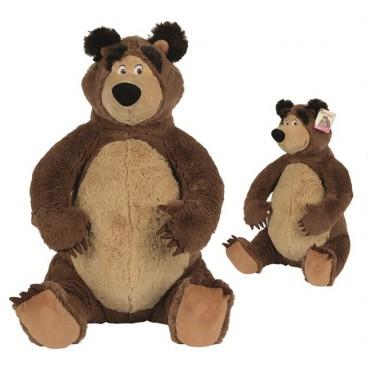 Máša a Medvěd - plyšový sedící Medvěd 50 cm