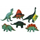 Gumový dinosaurus 16-21cm, 6 druhů