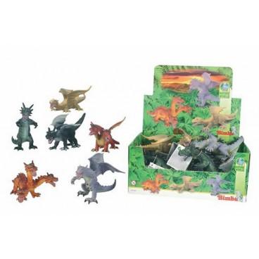 Figurky draků, 17-25 cm, 6 druhů