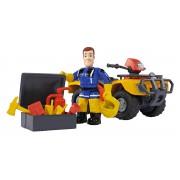 Požárník Sam Hasičská čtyřkolka Mercury, s figurkou