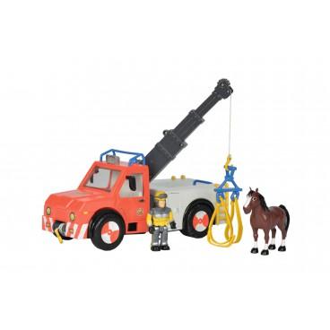 Požárník Sam Auto Phoenix, s figurkou a koněm
