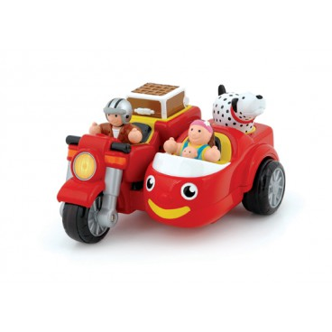 Max motorka s přívěsem