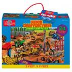 1125 Podlahové puzzle 24 dílků Stavba