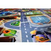 Dětský koberec Ultra Soft Letiště
