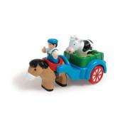 Farmář s vozíkem