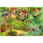 Dětský koberec Farma, 100 x 150 cm