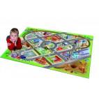 Dětský kusový koberec město / letiště 3D, 100 x 150 cm