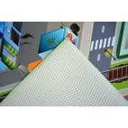 Dětský kusový koberec město / letiště 3D