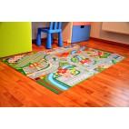 Dětský koberec Hrací koberec Město s letištěm