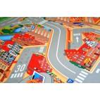 Dětský koberec Hrací koberec Město s přístavem