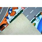 Dětský koberec Hrací koberec Zasněžené město
