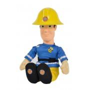 Požiarnik Sam - Postava 30 cm s vinyl. hlavou, hovoriaci nemecky