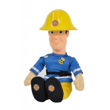Požárník Sam - Postava 30 cm s vinil. hlavou, mluvící něměcky