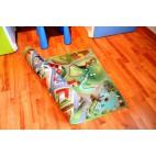 Dětský koberec oboustranný Město-farma - velký