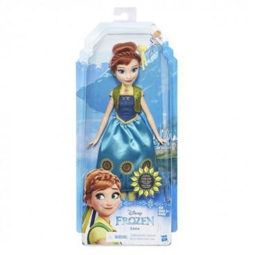 Ledové království - postava Anna v módních šatech