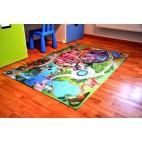 Dětský koberec oboustranný zámek-jízdárna - velký