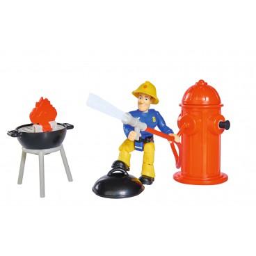 Požárník Sam - set s grilem a vodním hydrantem