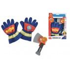 Požárník Sam - hasičské rukavice a sekerka