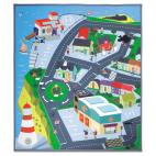Požárník Sam hrací koberec město 70x80 cm