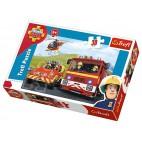 Požárník Sam puzzle: Na výjezdu 30 dílků