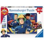 Požiarnik Sam puzzle 2 x 24 dielikov