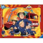 Požárník Sam puzzle 33 dílků