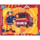 Požiarnik Sam puzzle: Sam zasahuje 33 dielikov
