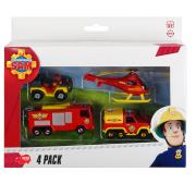 Požiarnik Sam Angličáky 4v1