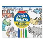 Jumbo maľovanky - Modré