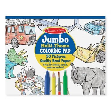 Jumbo omalovánky - Modré