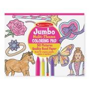 Jumbo maľovanky - Ružové