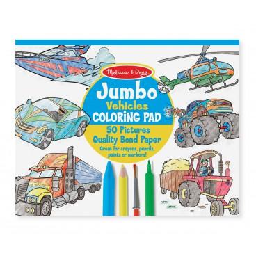 Jumbo omalovánky - Dopravní prostředky