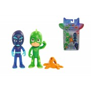 PJ Mask figurka 8 cm - Gekko a Noční ninja