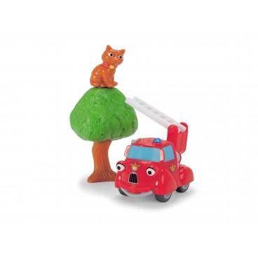 Statečná autíčka - hasičské auto Hanička s příslušenstvím