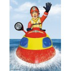 Požiarnik Sam puzzle Zásah na vode 20 dielikov