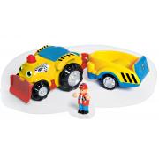 Henry nákladné auto s prívesom
