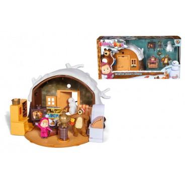 Máša a Medvěd - Zimní dům medvěda Míši
