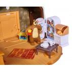 Máša a Medveď - Zimný dom medveďa Míšu