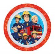 Požárník Sam dětský talíř mělký