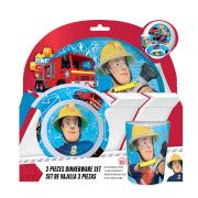 Požárník Sam snídaňový set (3 ks)